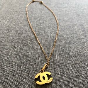 CHANEL Rose Gold Necklace
